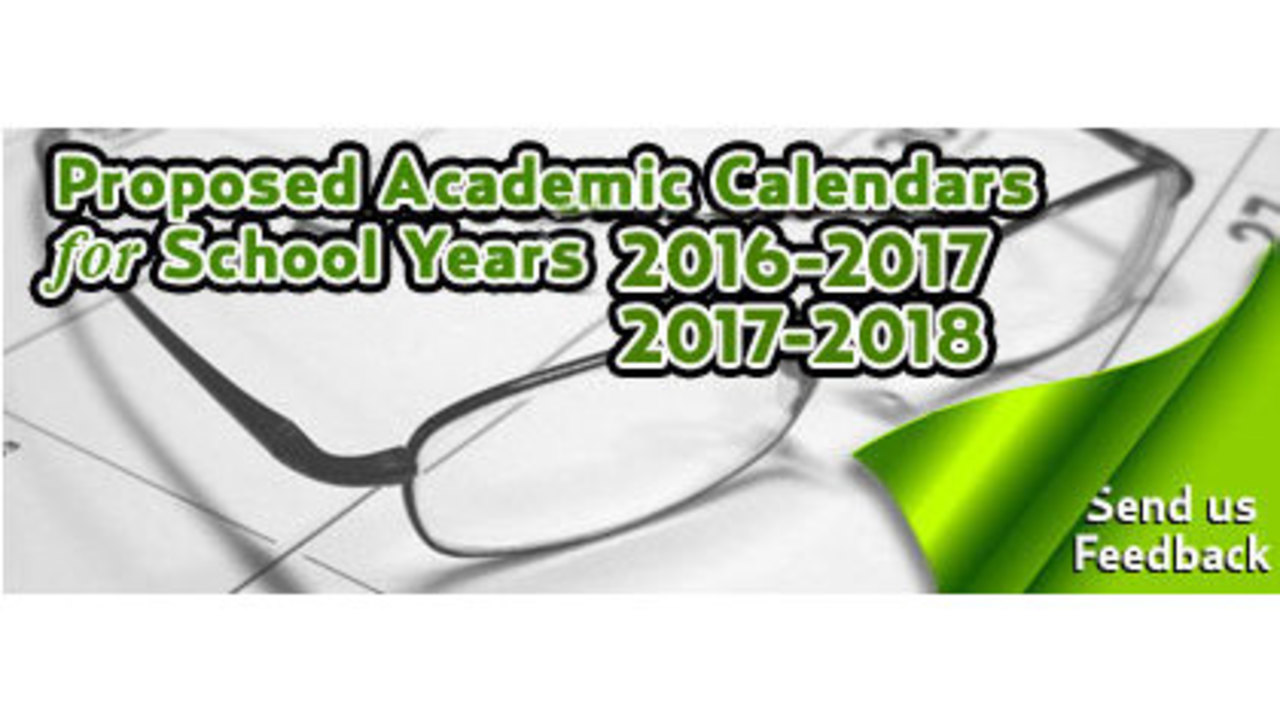Sccpss Seeks Public Input For Proposed Academic Calendars