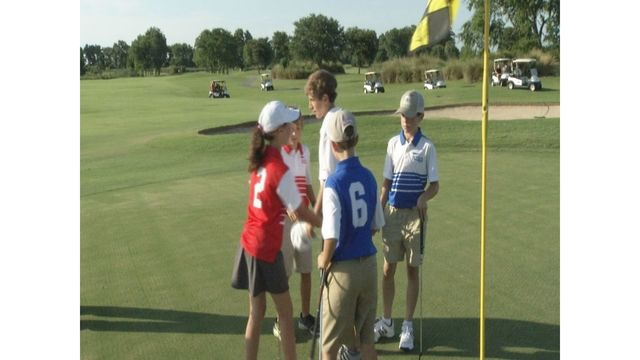 Children in the Coastal Empire Learning to Play Golf with the PGA Junior League