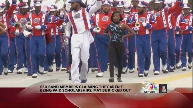 Savannah State Band Protests Money Treatment