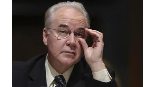 Report: At least $341,000 wasted on travel by Trump's ousted health secretary Tom Price