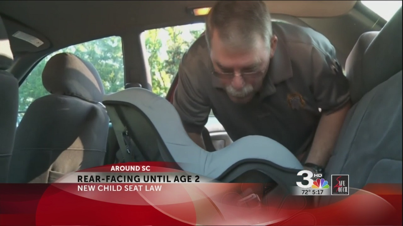 New Child Safety Seat Law In Effect SC