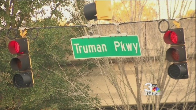 Truman Parkway still closed, evaluating for safety
