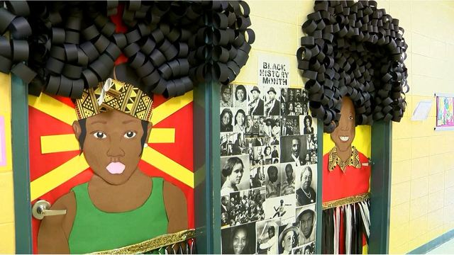 Teacher S Black History Month Decorations Bring Viral Attention
