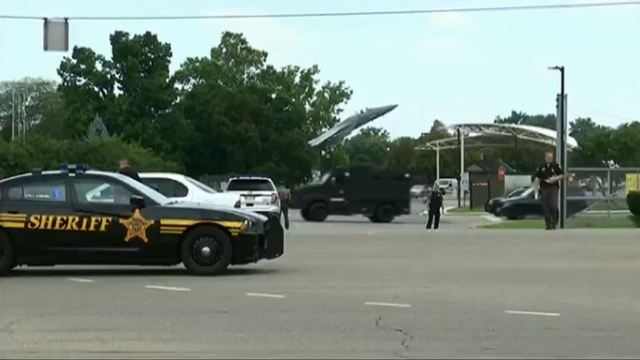 UPDATE: Ohio Air Force base says there was no active shooter