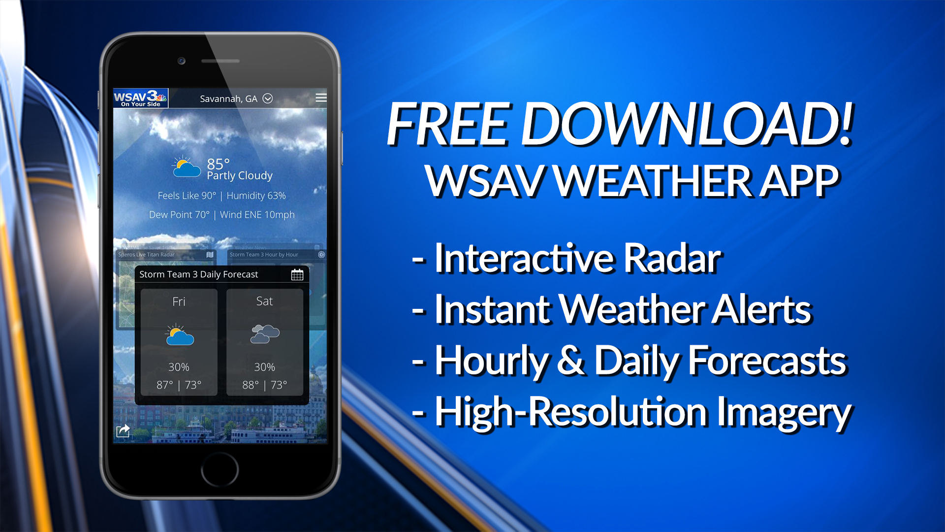 App Weather | WSAV-TV