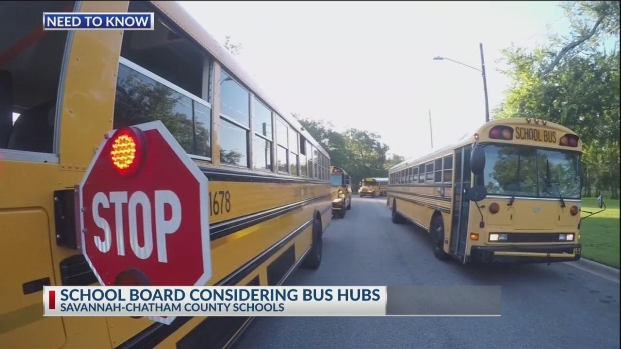 Savannah-Chatham County school board considering bus hub proposal