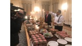 Trump welcomes Clemson champs with Filet-O-Fish and photo op