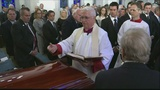 """Mourners gather for funeral of South Carolina's Ernest """"Fritz"""" Hollings"""