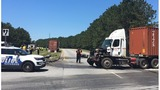 Minor injuries involved in tractor-trailer crash on Jimmy Deloach Parkway