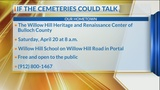 """Our Hometown: Willow Hill """"If These Cemeteries Could Talk"""" Tour continues this Saturday in Portal"""