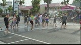 Beach Bums flood to Tybee for 'south's largest water fight'