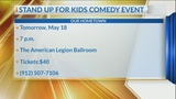 Our Hometown: Local celebrities 'stand up for kids' during comedy benefit