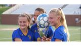Three-peat: St. Vincent's girls soccer wins third straight state title