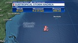 First storm of hurricane season forms in Atlantic