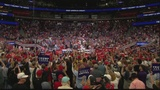 President Trump kicks off 2020 re-election campaign, supporters gather to watch in Savannah
